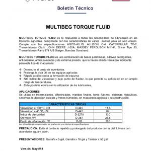 Aceite para Transmisiones Servoasistidas Torquefluid
